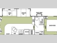 Floorplan - 2004 Forest River RV Wildwood 27 RLSS