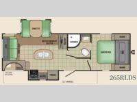 Floorplan - 2017 Starcraft Launch Grand Touring 265RLDS