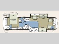 Floorplan - 2006 Holiday Rambler Endeavor 38PST