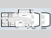 Floorplan - 2008 Winnebago View 24H