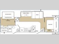 Floorplan - 2006 Keystone RV Sprinter 314BHDS