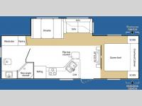 Floorplan - 2007 Keystone RV Sprinter 250RBS