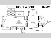New 2017 Forest River RV Rockwood Wind Jammer 3025W Photo