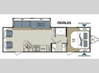 Floorplan - 2017 Dutchmen RV Aerolite 281RLSS