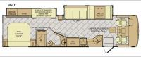 Bounder 36D Floorplan Image