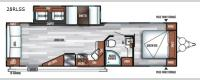 Salem 28RLSS Floorplan Image