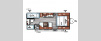 Salem Cruise Lite 201BHXL Floorplan Image