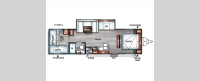 Salem Cruise Lite 273QBXL Floorplan Image