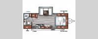 Salem Cruise Lite 233RBXL Floorplan Image