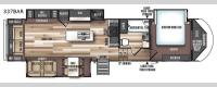 Wildwood Heritage Glen LTZ 337BAR Floorplan Image