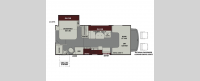 Leprechaun 210RS Chevy 4500 Floorplan Image