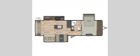 Springdale 333RE Floorplan Image