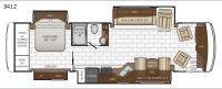 Kountry Star 3412 Floorplan Image