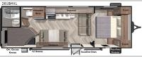 Salem Cruise Lite 261BHXL Floorplan Image