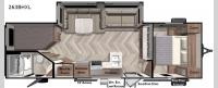 Salem Cruise Lite 263BHXL Floorplan Image