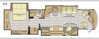 Pace Arrow LXE 37R Floorplan Image