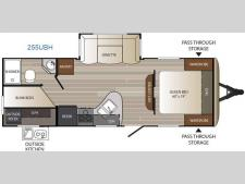 Floorplan - 2016 Keystone RV Outback Ultra Lite 255UBH