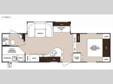 Floorplan - 2016 Forest River RV Surveyor 275BHSS