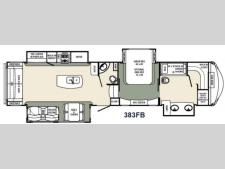 Floorplan - 2016 Palomino Columbus F383FB