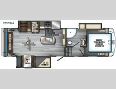 New 2018 Forest River RV Cherokee Arctic Wolf 285DRL4 Photo