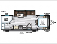 New 2019 Forest River RV Cherokee Alpha Wolf 26DBH-L Photo