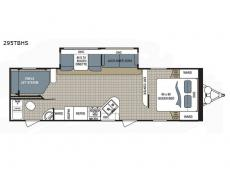 Floorplan - 2017 Dutchmen RV Kodiak Ultimate 295TBHS