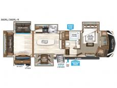 Floorplan - 2017 Grand Design Solitude 360RL