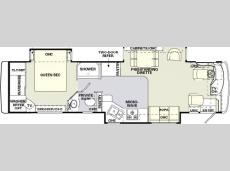 Floorplan - 2004 Holiday Rambler Endeavor 36 PST
