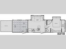 Floorplan - 2009 Heartland Cyclone 3210