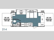 Floorplan - 2009 Dutchmen RV Kodiak 214