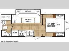 Floorplan - 2009 Dutchmen RV ECO 721FBS
