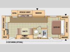 Floorplan - 2010 Jayco Eagle Super Lite 256RKS