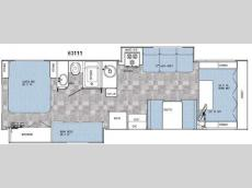 Floorplan - 2009 Gulf Stream RV Conquest Traditional C 63111