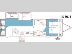 Floorplan - 2005 Keystone RV Outback SYDNEY EDITION 30RLS