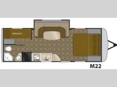 Floorplan - 2011 Heartland Edge M22