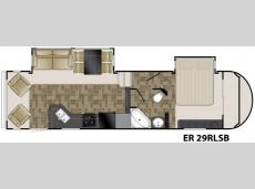 Floorplan - 2011 Heartland ElkRidge 29RLSB