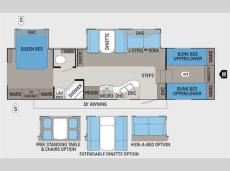 Floorplan - 2011 Jayco Eagle Super Lite 31.5FBHS