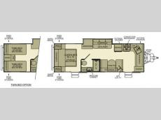 Floorplan - 2012 EverGreen RV Ever-Lite 29FK