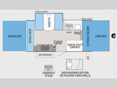 Floorplan - 2011 Jayco Jay Series 1208