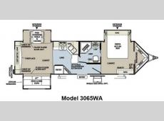 Floorplan - 2013 Forest River RV Rockwood Wind Jammer 3065WA