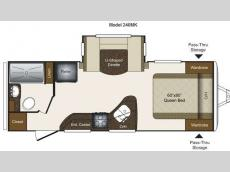 Floorplan - 2013 Keystone RV Laredo Super Lite 240MK