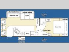 Floorplan - 2007 Keystone RV Outback Sydney Edition 28FRLS
