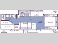 Floorplan - 2006 Forest River RV Rockwood 2701SS