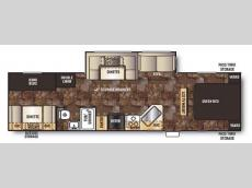 Floorplan - 2014 Forest River RV Cherokee 284BH