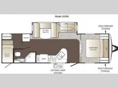 Floorplan - 2014 Keystone RV Outback 292BH