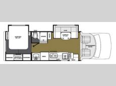 Floorplan - 2014 Forest River RV Lexington 265DS