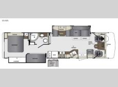 Floorplan - 2015 Forest River RV Georgetown 351DSF
