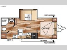 Floorplan - 2015 Forest River RV Wildwood X-Lite 231RBXL