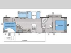 Floorplan - 2015 Jayco Eagle HT 29.5BHDS