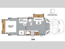Floorplan - 2015 Coachmen RV Prism 24G